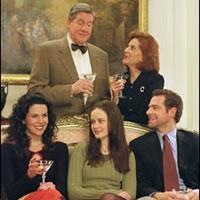 Lorelai con sus padres, su hija y su ex