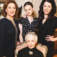 Las tres Lorelai con Emily